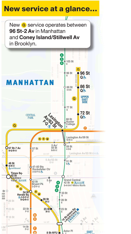 Q Metro Terkep Q Metro Vonal Terkep New York Usa