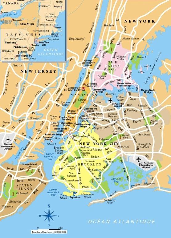 new york térkép Térkép New York   New York, New York térkép megjelenítése (New  new york térkép