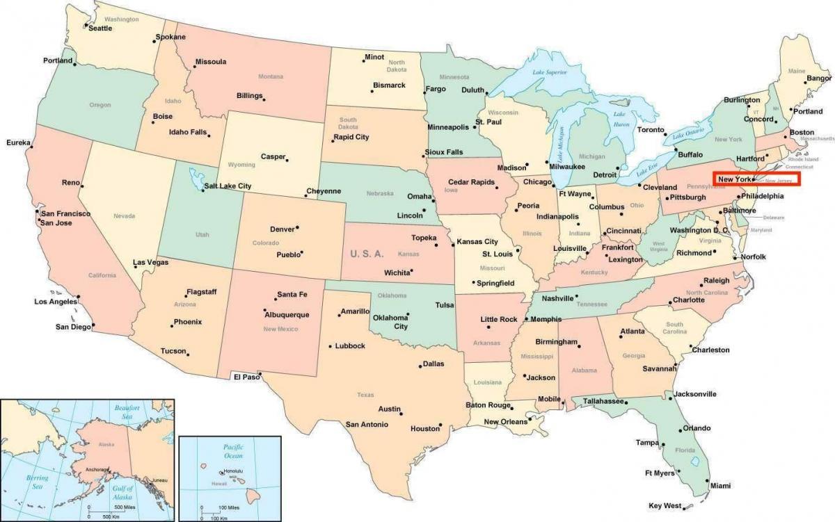 new york térkép New York amerika térkép   New York i amerikai térkép (New York   USA) new york térkép