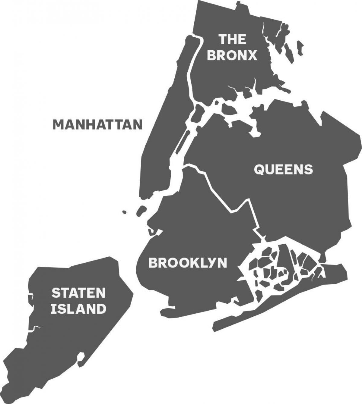 offline térkép New York offline térkép   New York vázlatos térkép (New York   USA) offline térkép